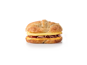 Ham, Egg and Cheese Croissant