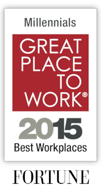 Fortune Magazine's Great Places to Work 2015